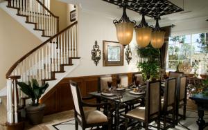 Como decorar una mesa de comedor moderna