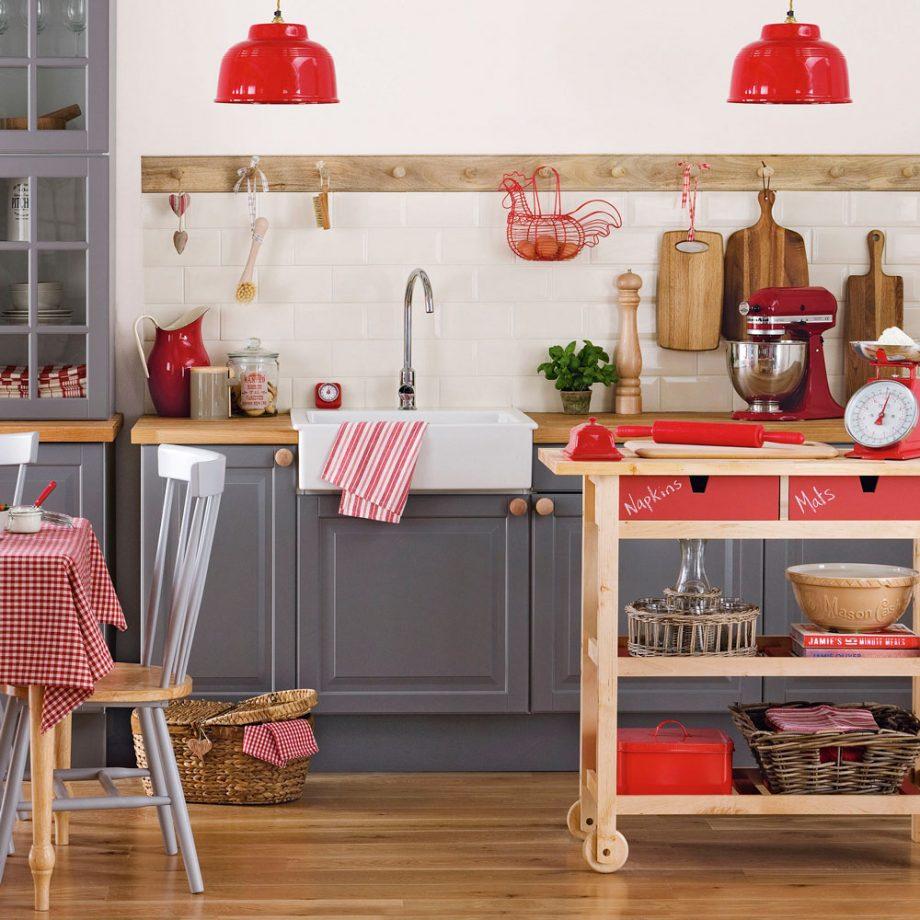 Busca almacenamiento portátil para cocinas pequeñas