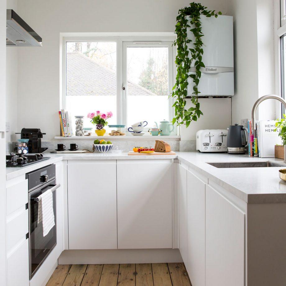 cocina compacta para amueblar espacios pequeños
