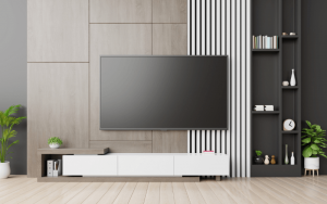 como decorar la pared de l televisor
