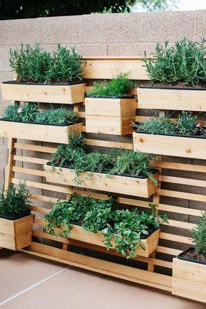 Jardines verticales para decorar un muro exterior