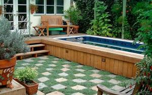para decorar un jardín pequeño