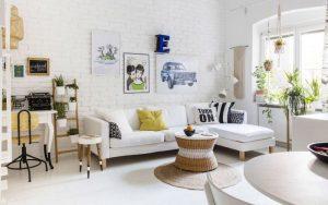 Ideas de Decoración de salas pequeñas y modernas