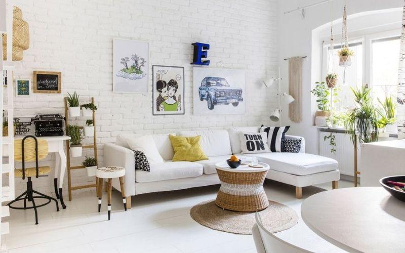 Ideas de Decoración de salas pequeñas y modernas - Decoratips