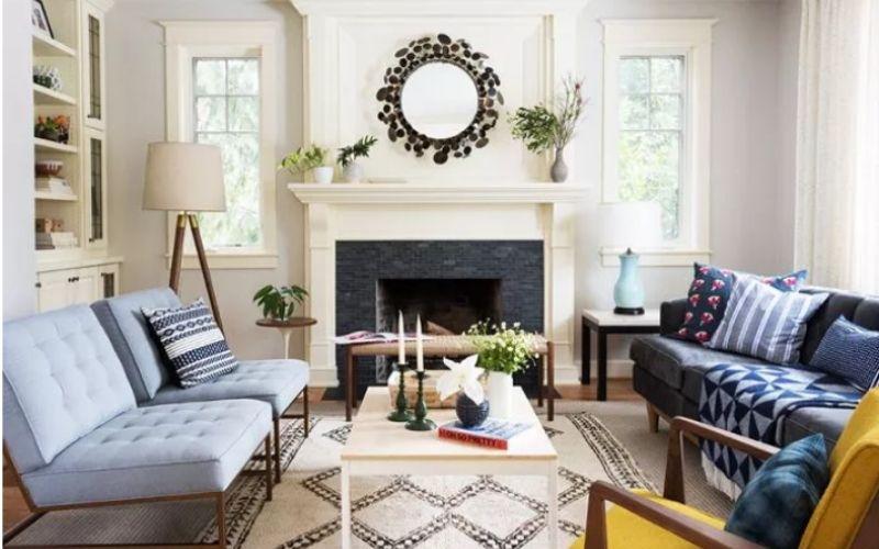 8 Ideas para pintar un salón pequeño