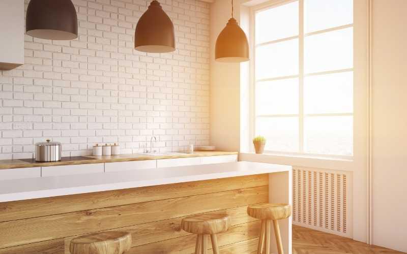 Muebles para separar cocina comedor - Decoratips