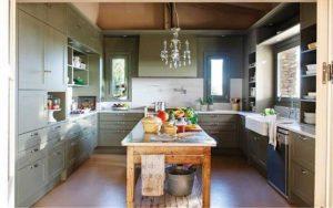 cocinas-comedor rústicas y pequeñas