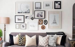 decoracion de salas con cuadros