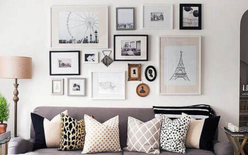 Ideas de decoración de cuadros para sala - Decoratips