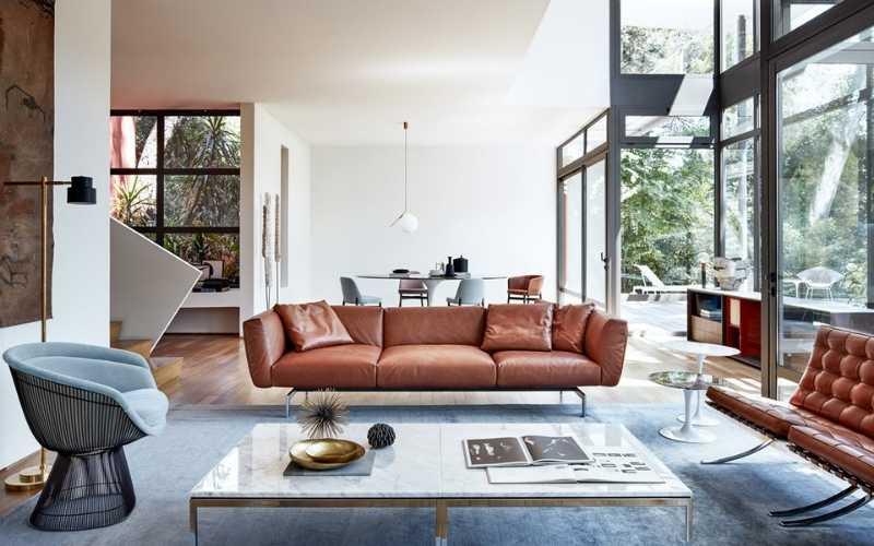 12 Ideas para decorar tu sala con muebles marrones - Decoratips