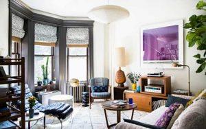 decorar un salon con cortinas