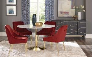 mejores colores para sillas de comedor