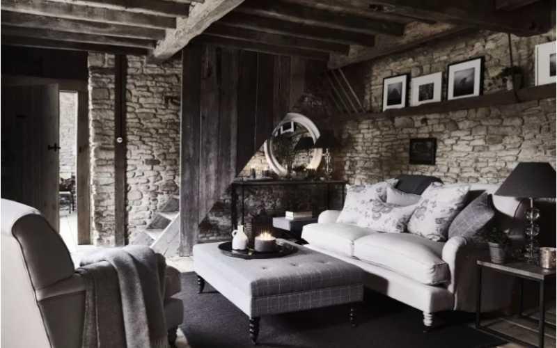 7 Ideas de Salones pintados con diferentes tonos de gris
