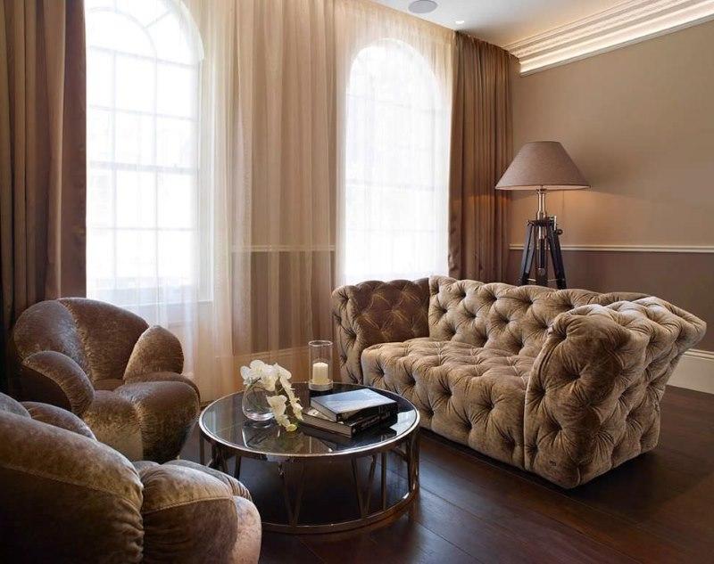 Confort y comodidad con estos sofás marrones en el salón