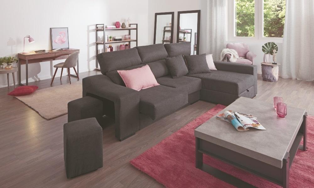 Crea un Doble ambiente en tu salón de 30 metros cuadrados