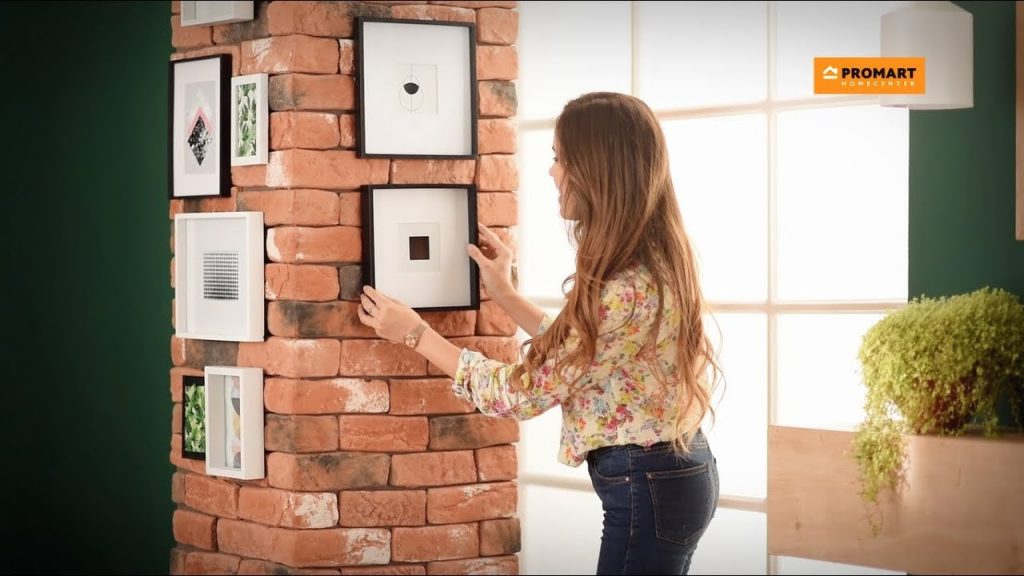 El ladrillo va perfecto para revestir columnas cuadradas