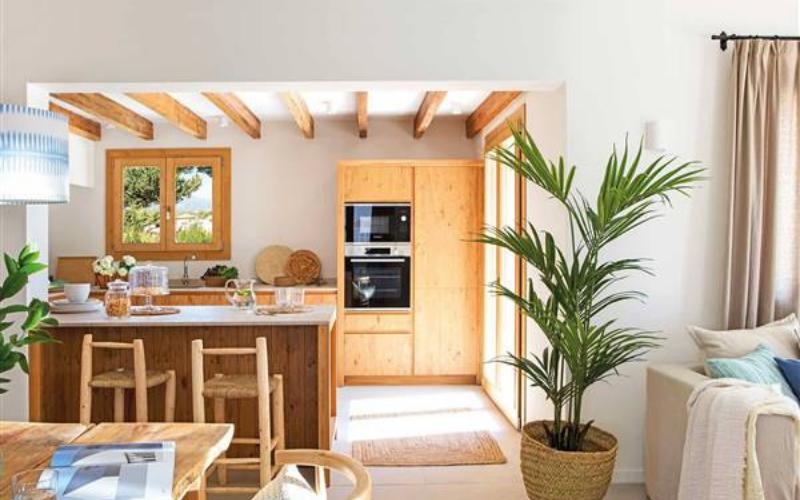 Ideas de cocinas comedor en forma de L - Decoratips