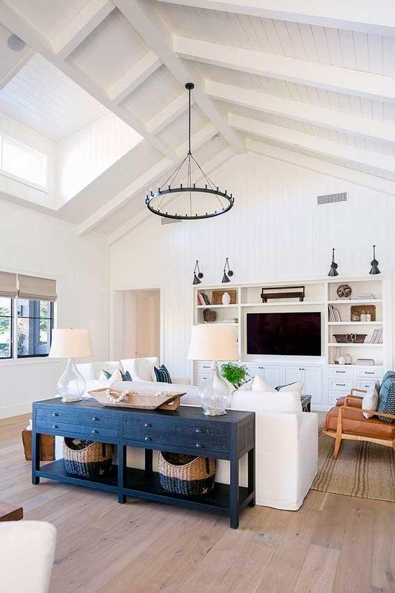 Muebles y colores típicos del estilo marinero