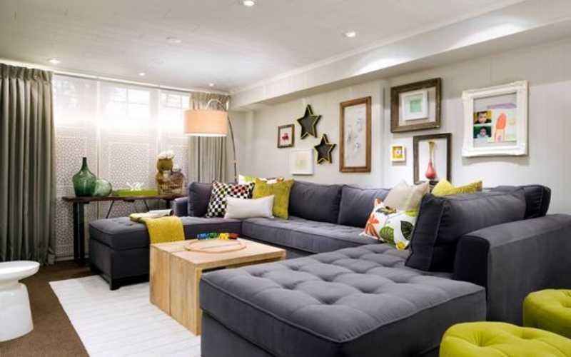 Tips para Decorar un salón pequeño con un sofá grande