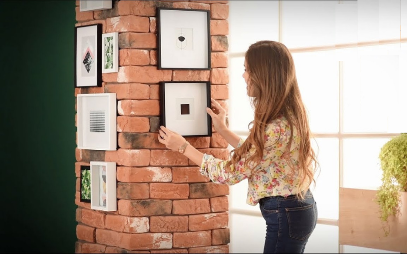 Tips para decorar columnas cuadradas - Decoratips