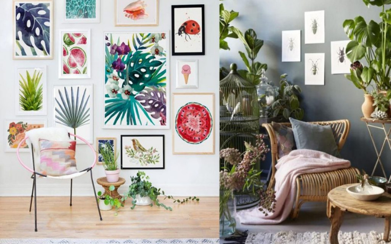Ideas para Decorar un Salón estilo Tropical - Decoratips