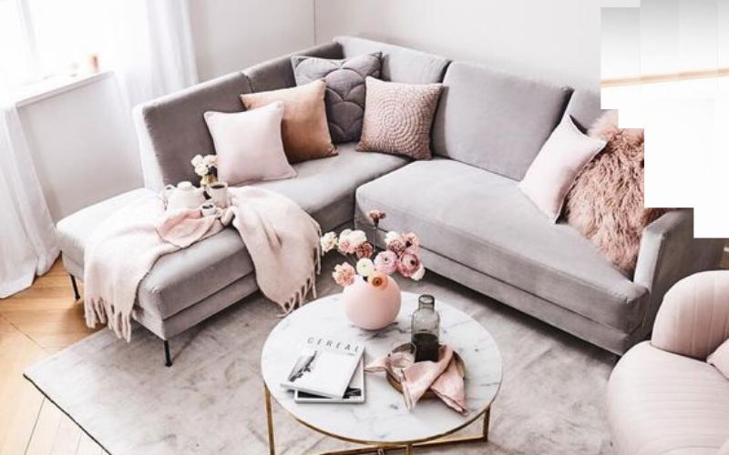 Tips para decorar un sofá con Mantas - Decoratips