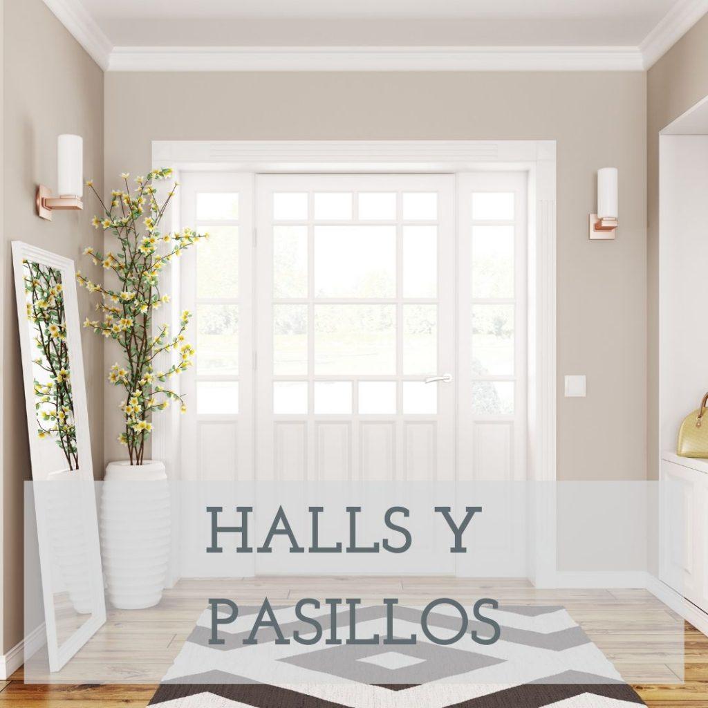 DECORACION DE HALLS Y PASILLOS