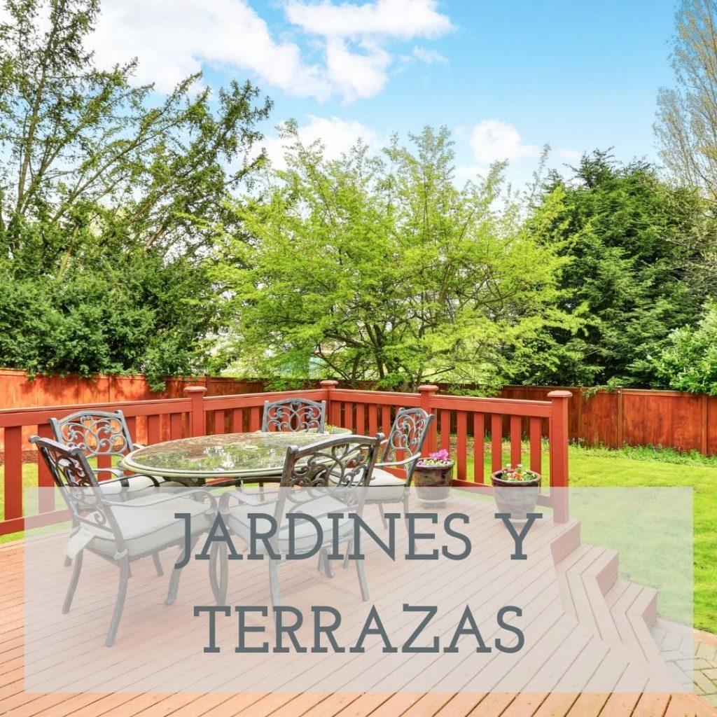 DECORACION DE JARDINES Y TERRAZAS