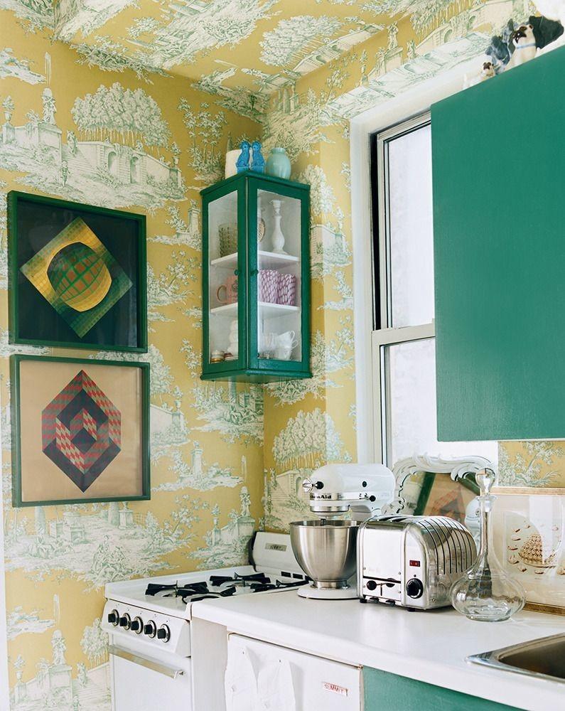 accesorios para decorar la cocina en verde