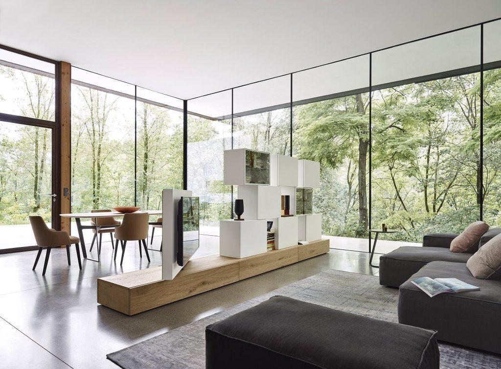 Salón lujoso multiuso moderno