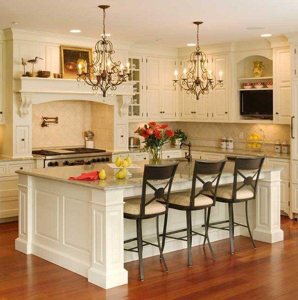 decoración para barras de cocina clásicas
