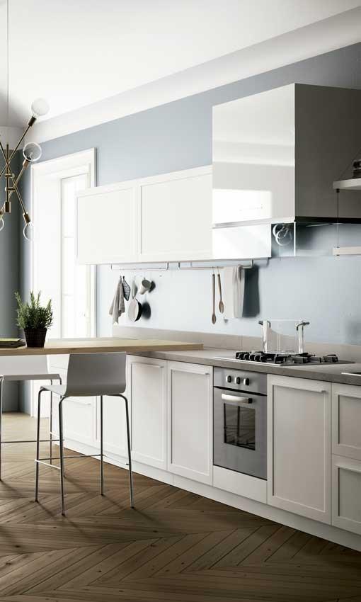 cocina de color gris de fondo