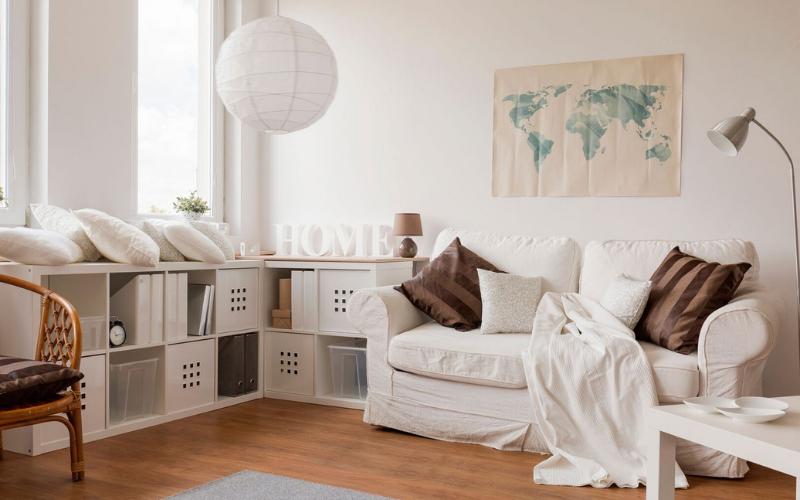 15 Salones pintados de Blanco preciosos
