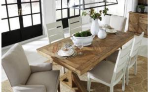 centros de mesa clasicos para la mesa del comedor