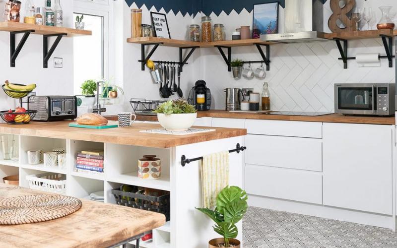 Tips para decorar un salón con cocina americana pequeña