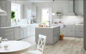 decoración de cocinas en color gris