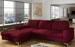 decorar con un sofa burdeos