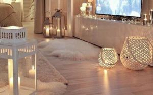 decorar un salon con faroles