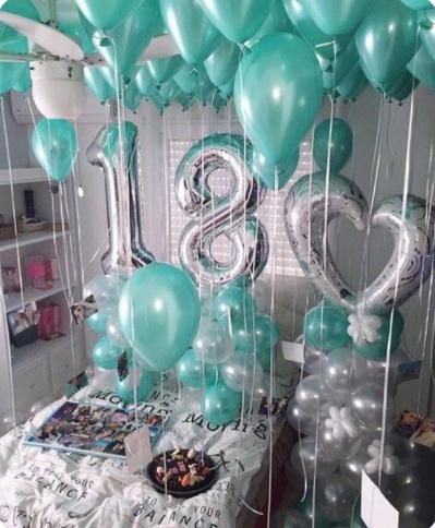 decoracion de cuartos para cumpleaños de adolescentes