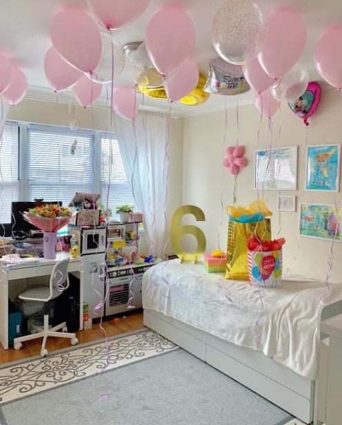 decoracion de cuartos para cumpleaños niña