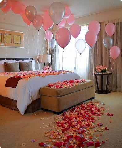 decoracion de cuartos para cumpleaños con flores