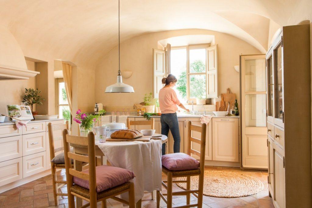 Cocinas comedor estilo rústico moderno clasico