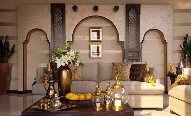 salones con decoracion arabe elegantes