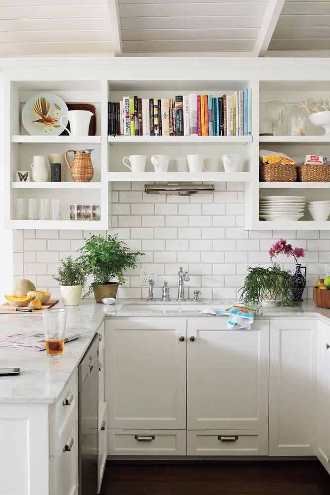 ideas para pintar cocina pequeña blancas