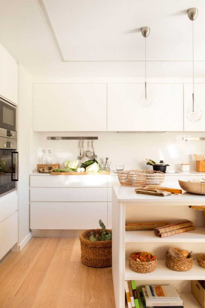 ideas para pintar paredes de cocina blancas