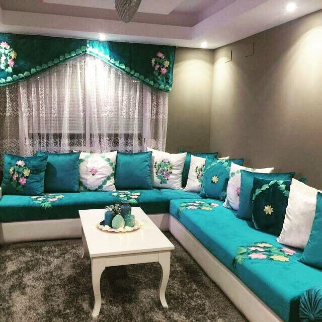 salones con decoracion arabe moderno