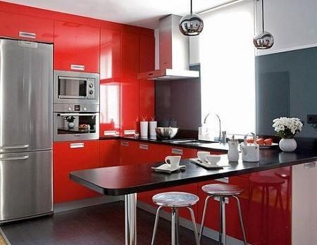 decoracion desayunador moderno para cocina