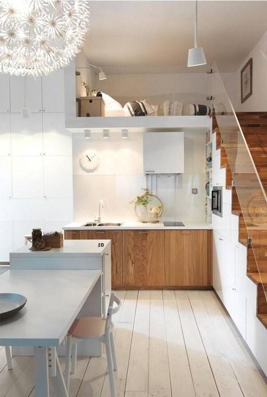 decoracion de cocinas muy pequeñas esquineras
