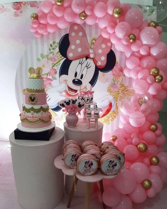 decoracion de cuartos para cumpleaños de minnie mouse