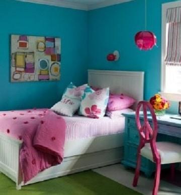 cuartos para niña de 11 años modernos  colorido
